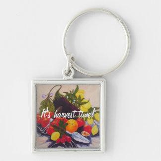 Fruits & Vegetables Medley Keychain