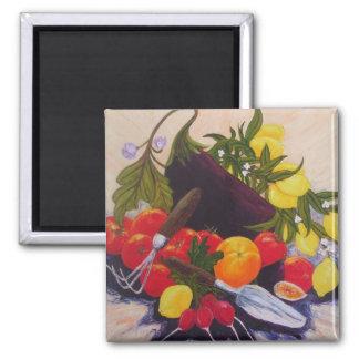 Fruits & Vegetables Medley Magnet