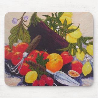 Fruits & Vegetables Medley Mouse Pad