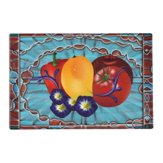 Fruits Vegetables Placemat