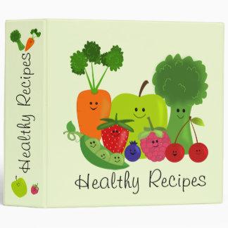 Fruits & Veggies Binder