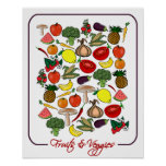 Fruits & Veggies poster