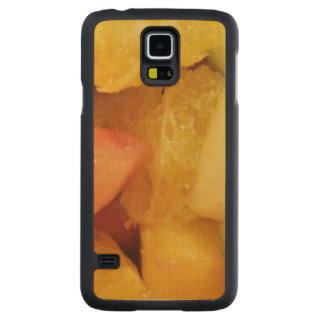 Fruits Carved® Maple Galaxy S5 Slim Case