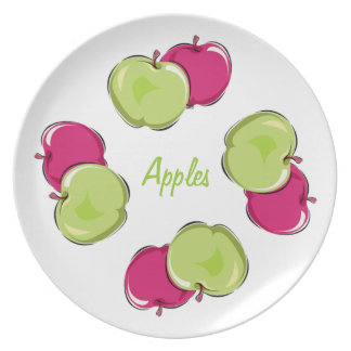 Fruity Apples Dinner Plate