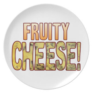 Fruity Blue Cheese Plate