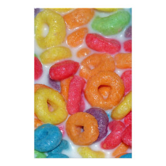Fruity Cereal Stationery