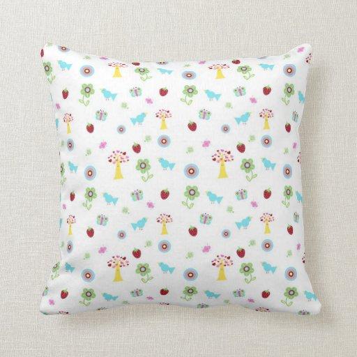 Fruity Forrest Pillow