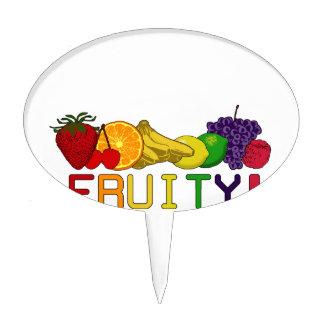 Fruity Fruit! Cake Topper