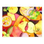 Fruity Fruits: Recipe Cards Postcard