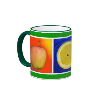 Fruity Ingredients Ringer Coffee Mug