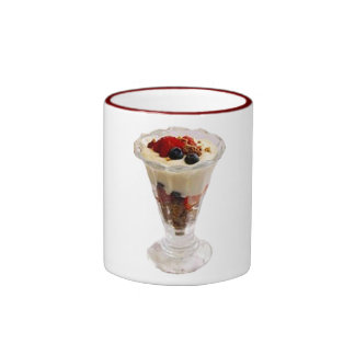 Fruity Italian Sundae Ringer Coffee Mug