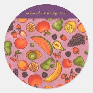 Fruity Juicy Stickers