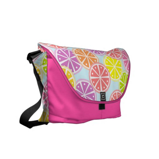 Fruity Lollipop Messenger Bag