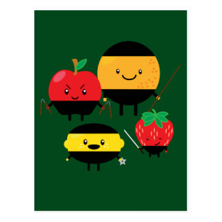 fruity-ninjas postcard