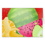Fruity note cards