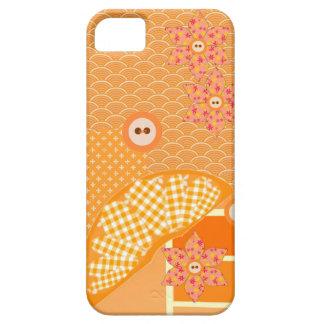 Fruity Orange Patchwork Decorative Scrapbook iPhone SE/5/5s Case