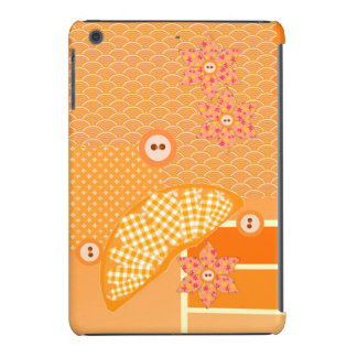 Fruity Orange Scrapbook Decorative Patchwork iPad Mini Retina Cases