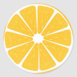 Fruity orange stickers