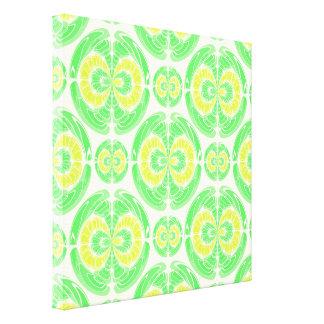 Fruity pattern canvas print