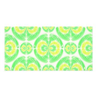 Fruity pattern card