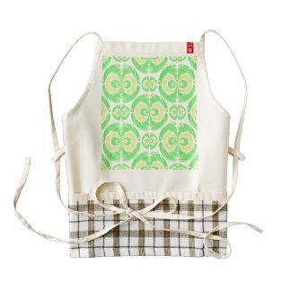Fruity pattern zazzle HEART apron