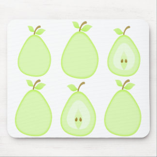 Fruity pear mousemat mouse pad