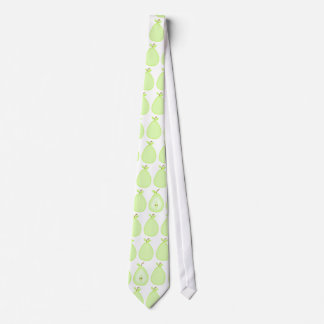 Fruity pear tie