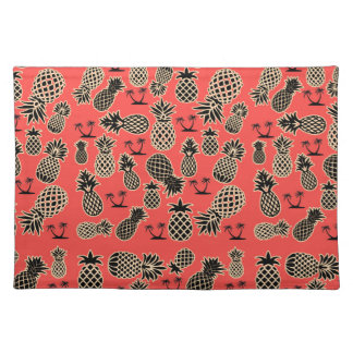 Fruity Pineapple Pattern Placemat