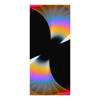 Fruity Rainbow Twirl Customized Rack Card