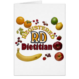 FRUITY RD - REGISTERED DIETITIAN GREETING CARD