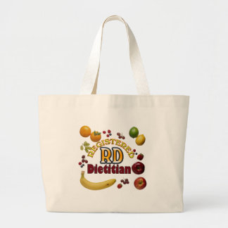 FRUITY RD - REGISTERED DIETITIAN JUMBO TOTE BAG