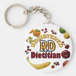 FRUITY RD - REGISTERED DIETITIAN KEYCHAIN