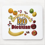 FRUITY RD - REGISTERED DIETITIAN MOUSE PAD