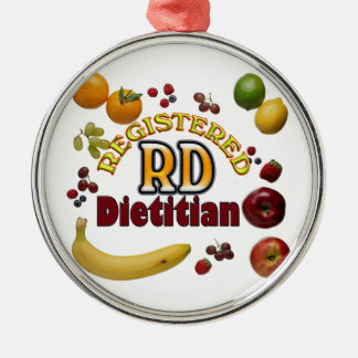 FRUITY RD REGISTERED DIETITIAN ORNAMENTS