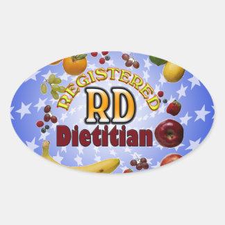 FRUITY RD REGISTERED DIETITIAN STICKER