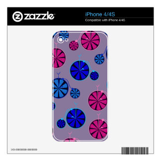 Fruity ride pattern skin for iPhone 4S