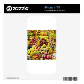 Fruity skin skin for iPhone 4S