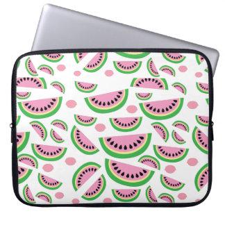 Fruity splash laptop sleeve