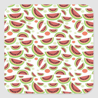 Fruity Splash Square Sticker
