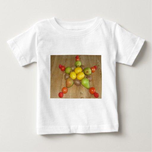 Fruity Star Baby T-Shirt