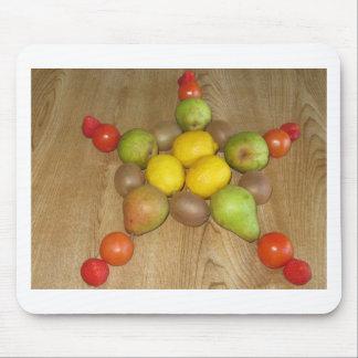 Fruity Star Mousepad