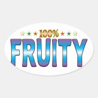 Fruity Star Tag v2 Sticker