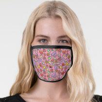 Fruity Sticker Elmo & Abby Cadabby Pattern Face Mask