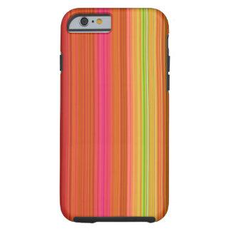 Fruity Stripes Tough iPhone 6 Case