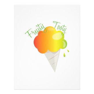 Fruity Tooty Letterhead