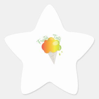 Fruity Tooty Star Sticker