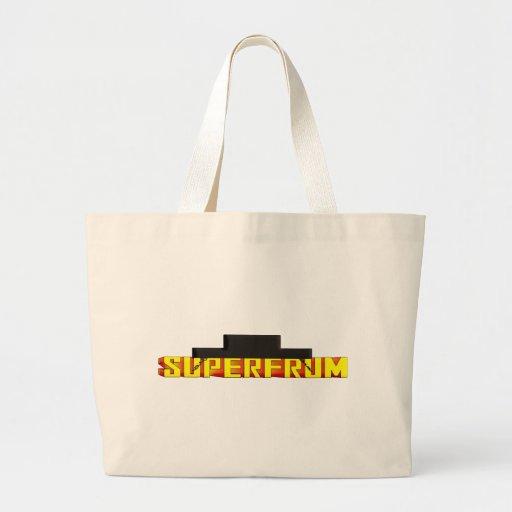 Frum estupendo bolsa lienzo