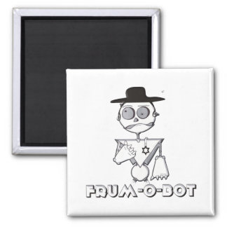 Frum-O-Bot 2 Inch Square Magnet