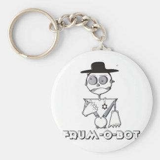 Frum-O-Bot Basic Round Button Keychain