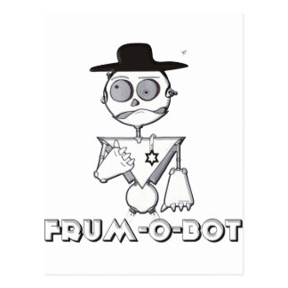 Frum-O-Bot Postcard